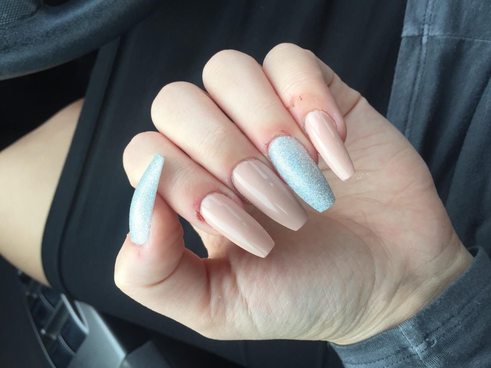 Amazon.com: Makartt 500pcs Coffin Nails Clear Ballerina Nail Tips ...