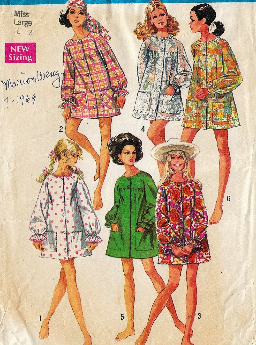 Pin On 1960s Sewing Patterns