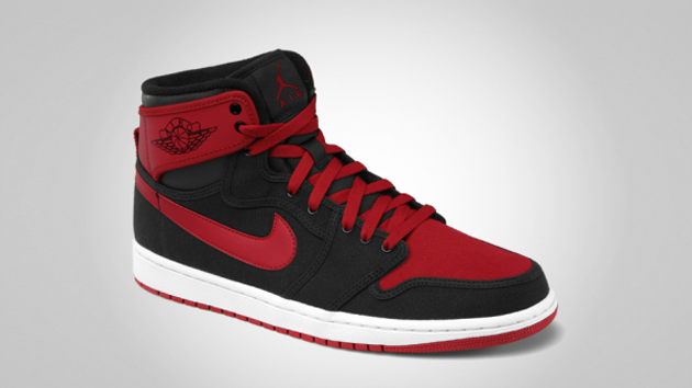 Air Jordan 1 Retro KO Hi Black-Varsity Red-White