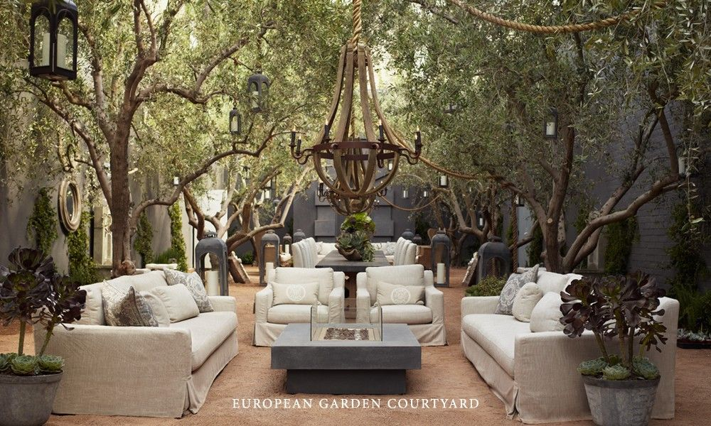 Decorations U0026 Accessories Amusing Restoration Hardware Outdoor Pillows  Dining Table And Collection In Garden Rattan Sofa Antique Chandelier :  Decoru2026