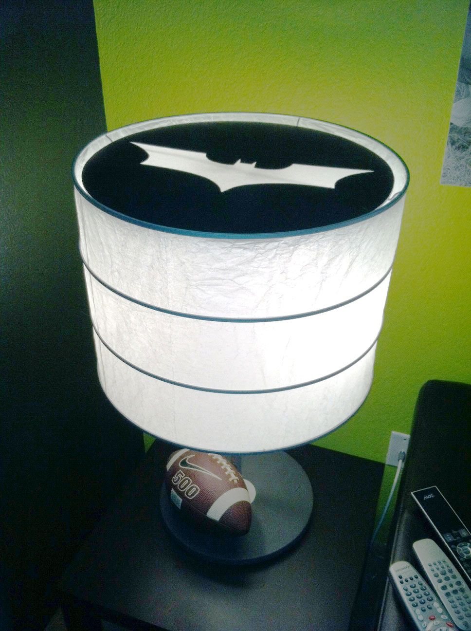 What Better What To Spend Your Saturday...than Turning Your Lamps Into  Batman