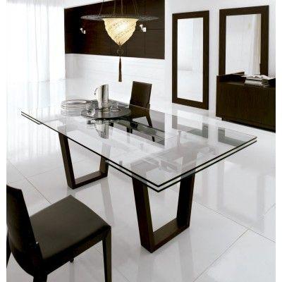 taula Mesa comedor cristal Pinterest Comedores, Mesas y