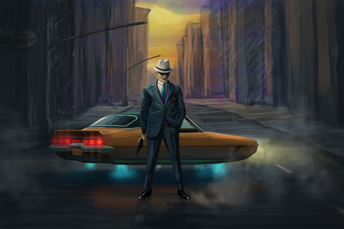 Mafia by Alex Martinov, via Behance