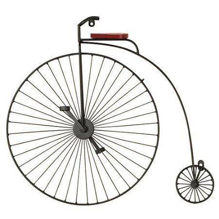 Amazon.com: 20 Inch High Metal Tricycle Wall Art Old