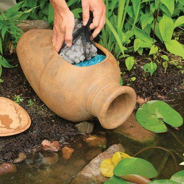 Great The Aquascape Pond Filter Urn Is Ideal For Smaller Ponds, Including  Preformed Ponds Or Container Water Gardens. The Aquascape Pond Filter Urn  Can Easily Be ...