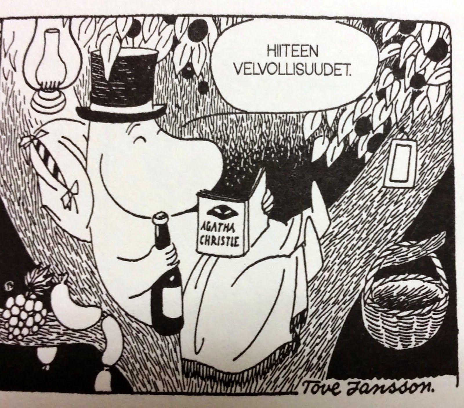 Villasukka kirjahyllyssä: Tove Jansson: Muumit - sarjakuvaklassikot I ja II | muumi in 2018 ...