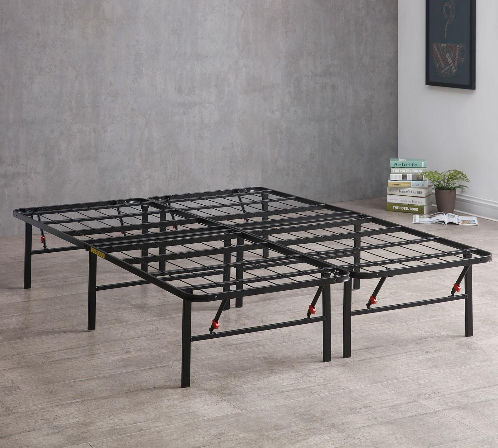 Shop for your Mattress Firm Deluxe Raised Metal Platform