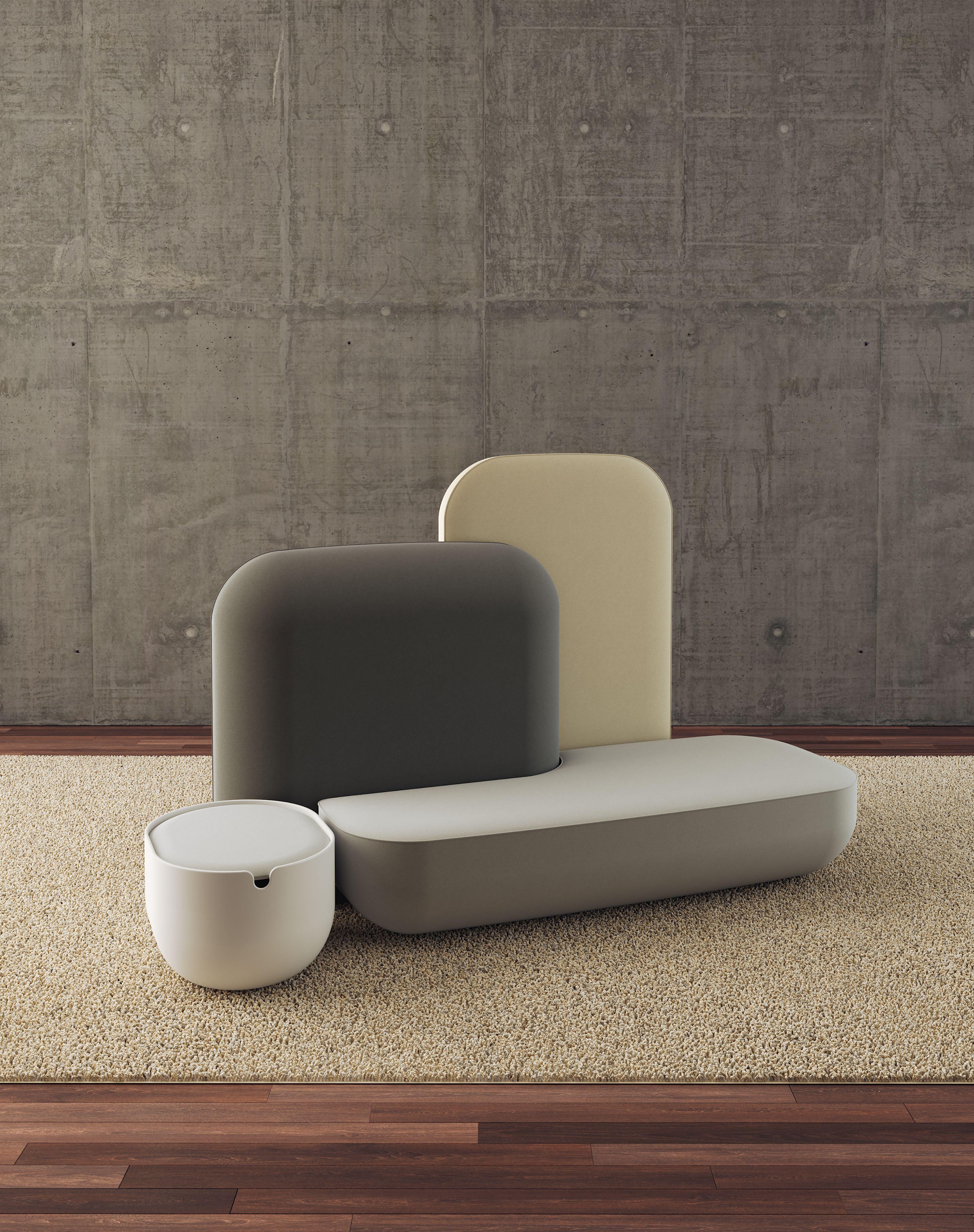 alias okome sofa by nendo h h dubai intersting chair and co rh pinterest com