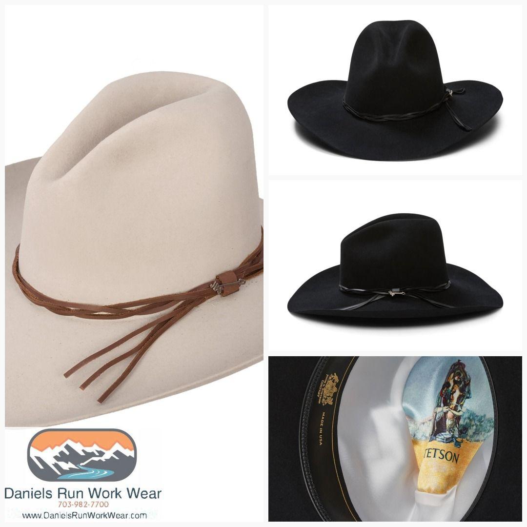 a09f9b4b7 Stetson Gus 6X Custom Made Cowboy Hat Silverbelly or Black Item ...