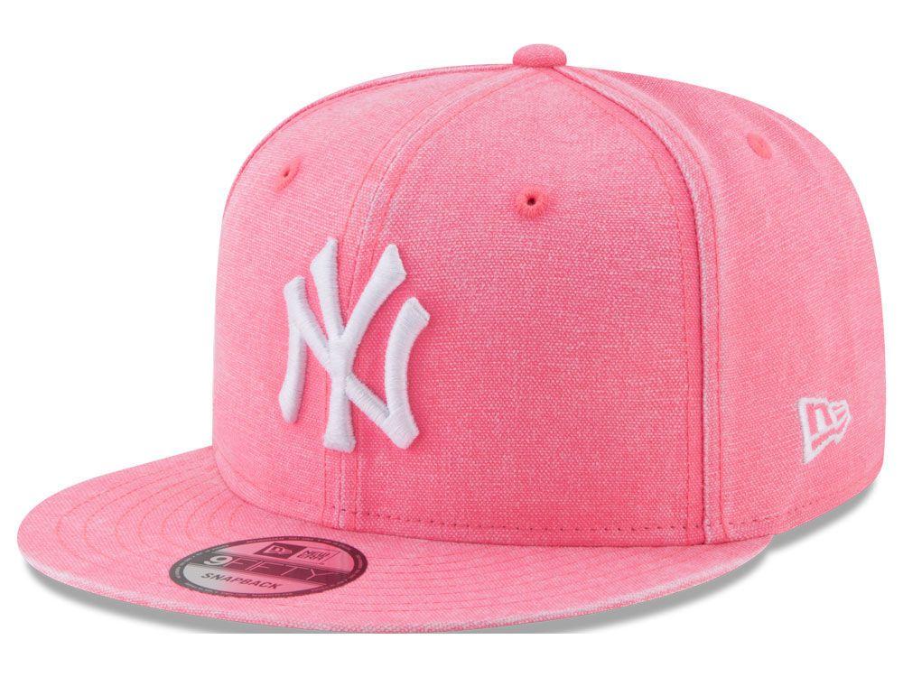 67356191707 New York Yankees New Era MLB Neon Time 9FIFTY Snapback Cap