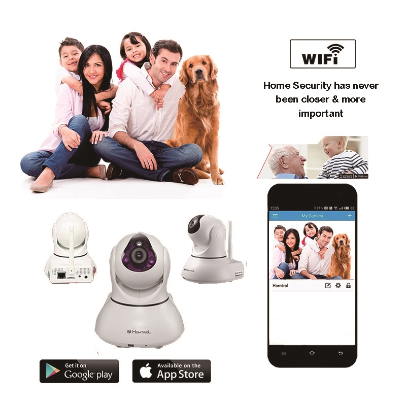 69.90$  Watch more here - http://ai91i.worlditems.win/all/product.php?id=32763259335 - Smart Home and Commercial Wifi IP Camera with Motion Sensitivity Adjustment and Sound Detection Alarm IP Monitor Camera
