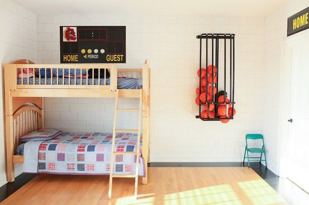 14 awesome basketball themed rooms for your youngsters bedrooms rh pinterest com