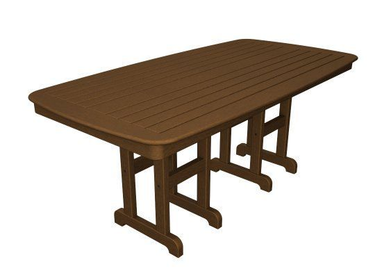 rectangular outdoor dining table all weather patio dining counter rh pinterest com
