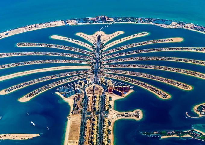 Amazing Pictures Of Dubai 20 Stunning Photographs Palm Island