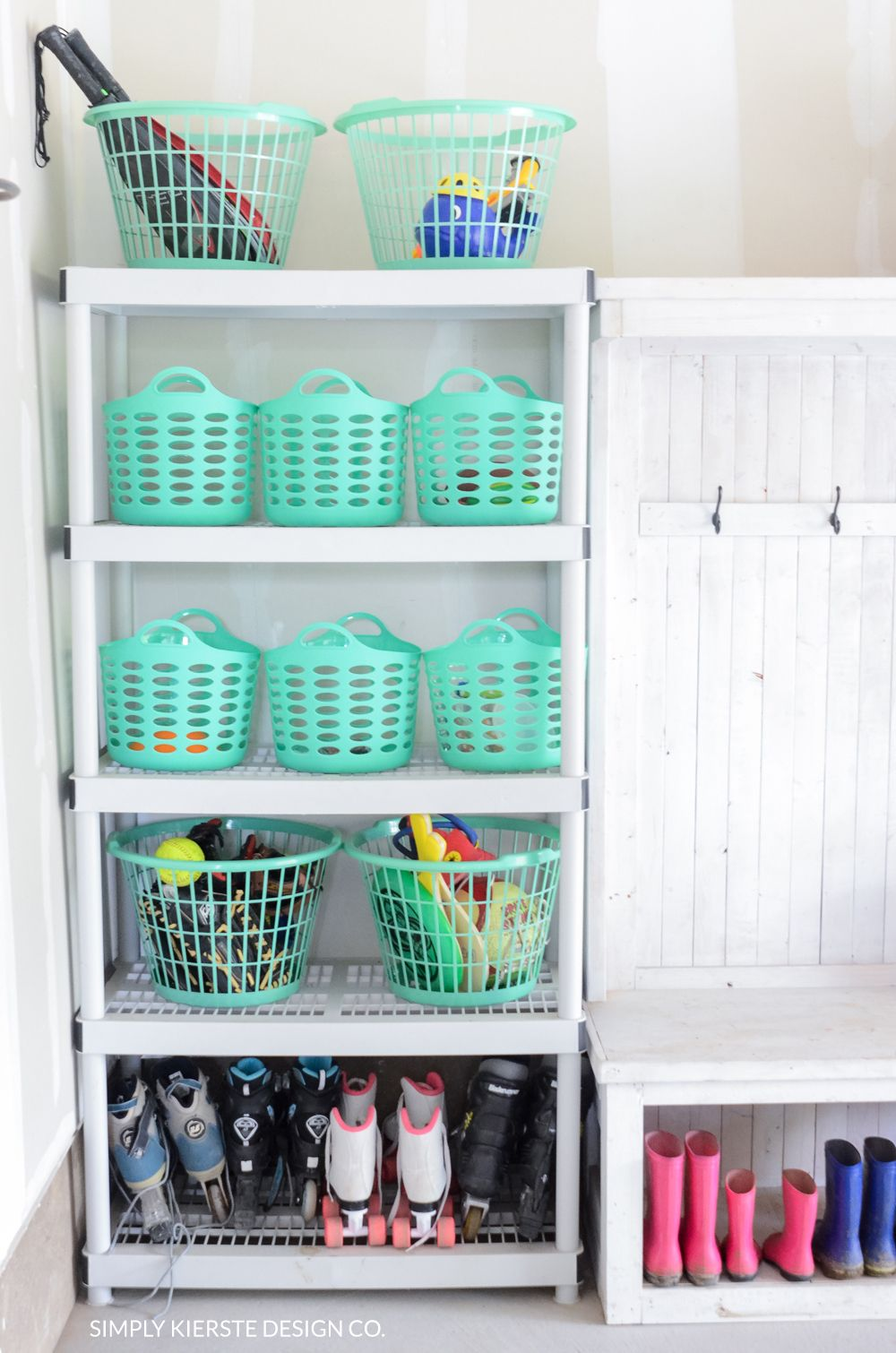 garage organization on a dollar store budget garage organization rh pinterest com