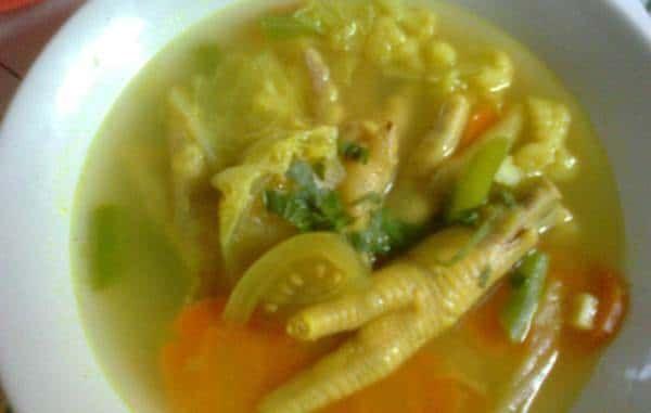 Resep Soto Ceker Resep Masakan Resep Resep Sederhana