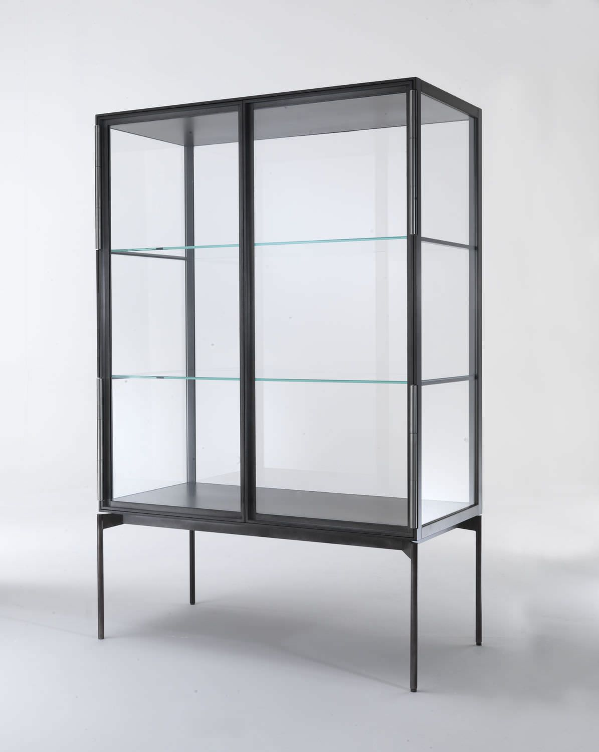 Contemporary bar cabinet / metal / wooden / by Christophe Pillet ...