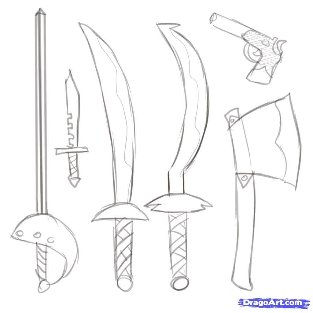 how to draw a pirate step by step google search