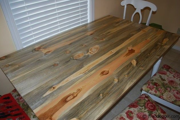 Table Top Was Made As A Replacement