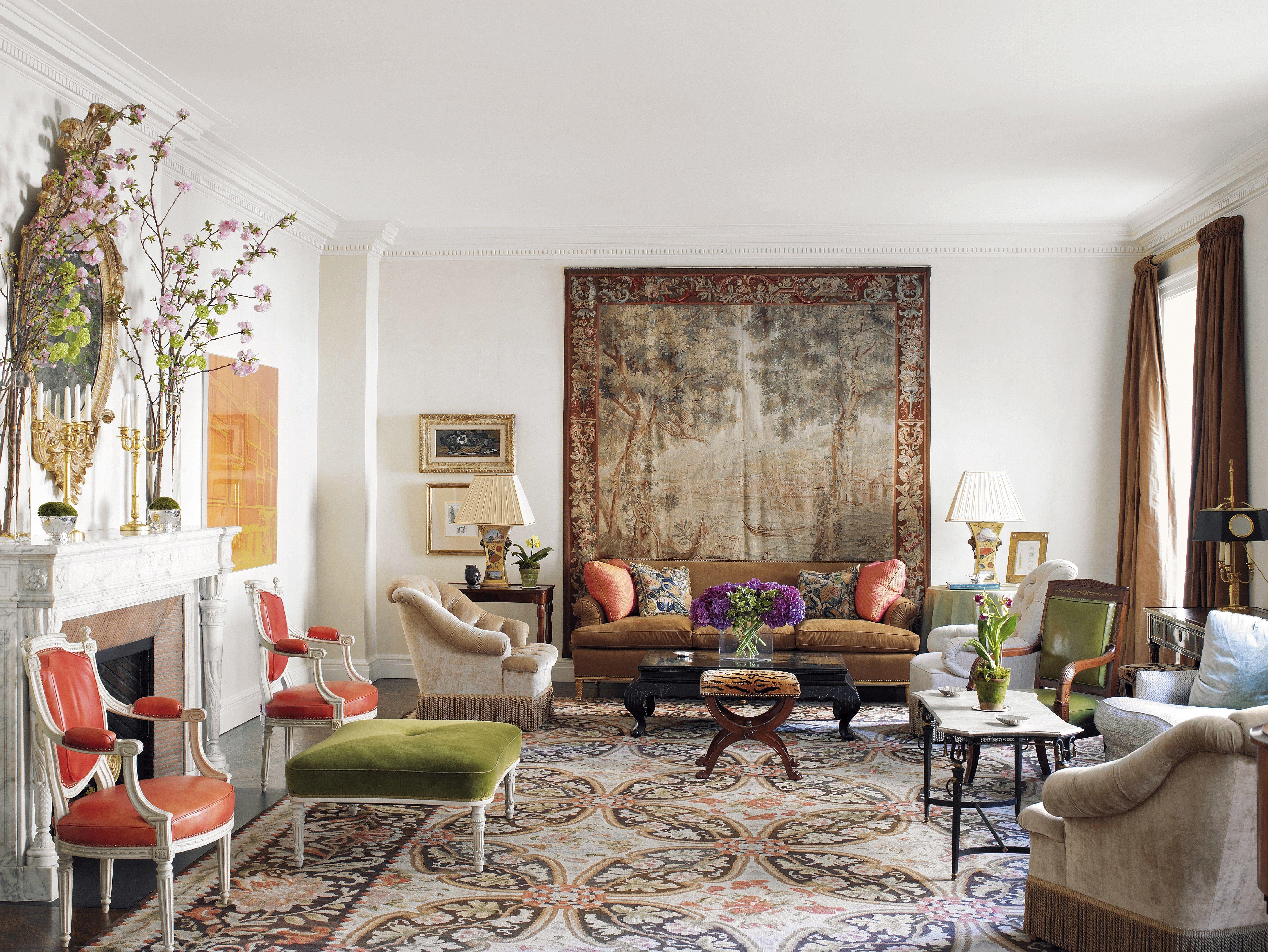living room arrangements%0A Explore Albert Hadley  Living Room Arrangements  and more