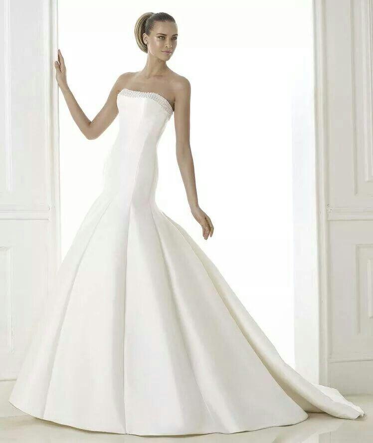 El  vestido soñado...simpleza total!