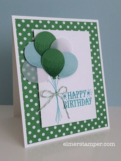 Wanna Guess My Favorite New Color Combo Handmade Birthday Cards Girl Birthday Cards Birthday Card Craft