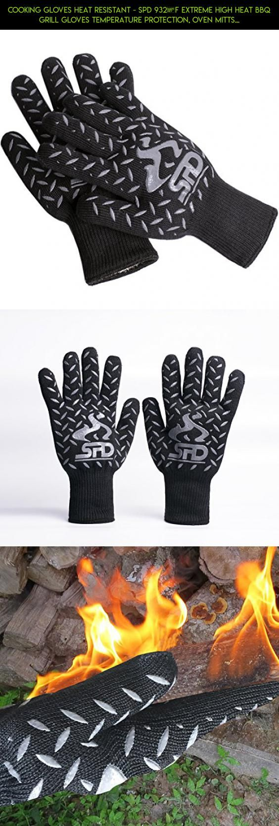 Cooking Gloves Heat Resistant Spd 932 F Extreme High Heat Bbq