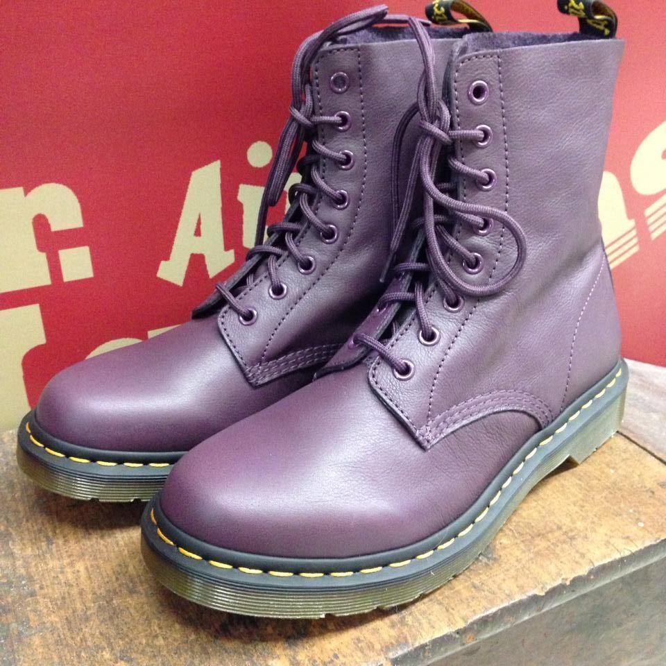 największa zniżka lepszy niskie ceny Pascal Purple Virginia   Boots, Shoes, Combat boots