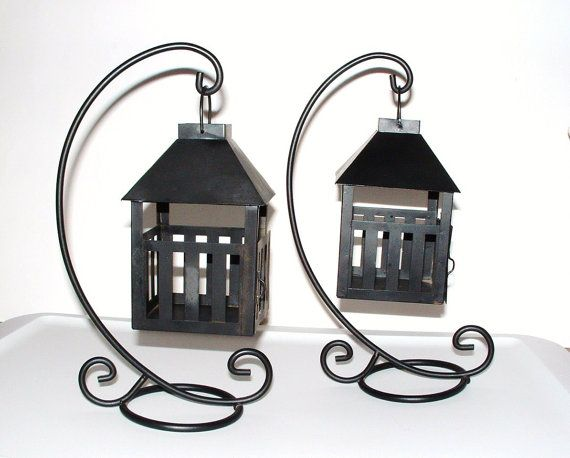 Vintage Lantern Candle Holders Tea Lights by PrettyShinyThings4U, $18.00