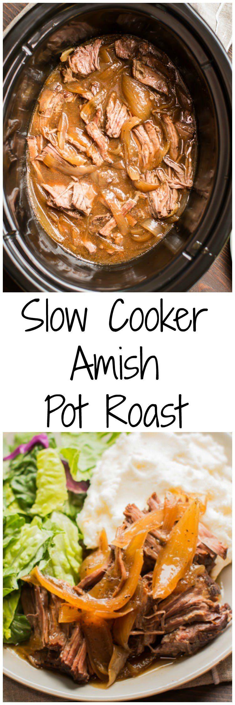 Amish Slow Cooker Cookbook