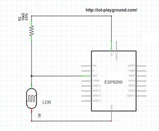 ESP8266 Light Sensor | Pinterest