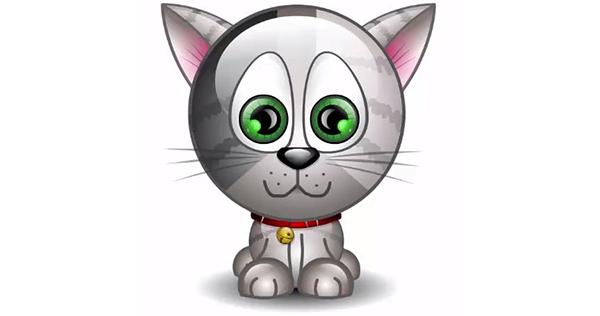 Animated Kitty Emoticon Animated emoticons, Animation