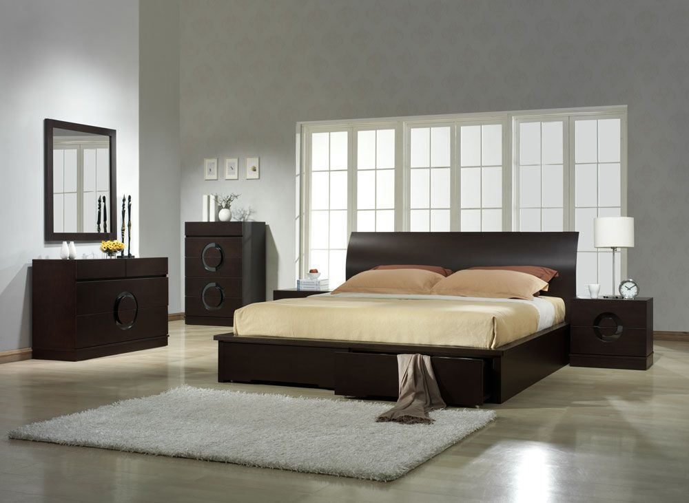 Stylish Wood High End Elite Furniture With Storage Drawers Contemporary Bedroom Furniture Modern Bedroom Furniture Modern Bedroom Design