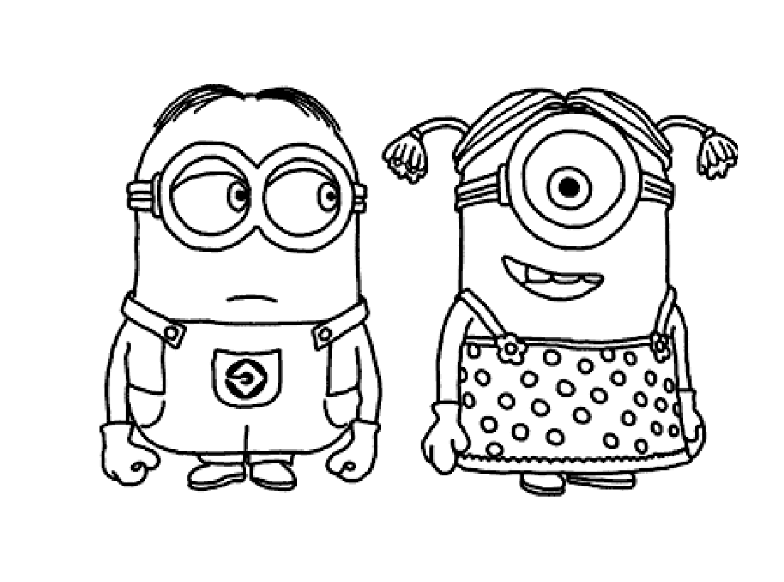 To print «coloring-minions-3», click on the printer icon at the ...