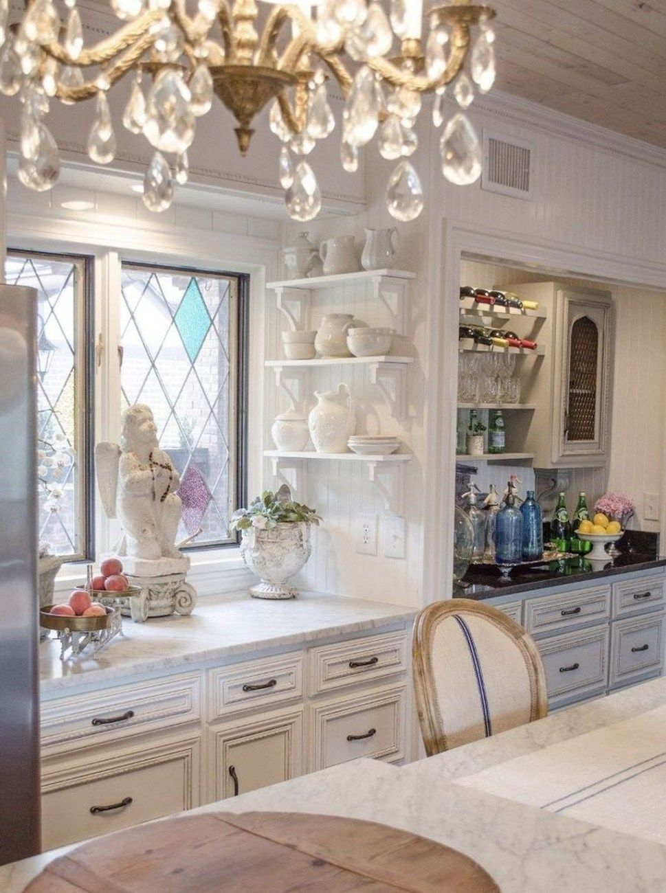 49 stunning french country style kitchen decor ideas french rh pinterest com
