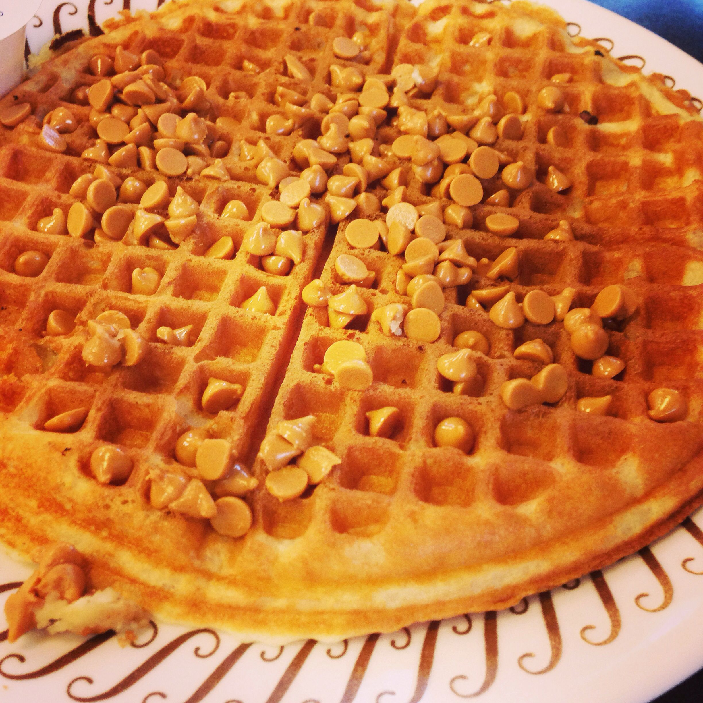 Peanut Butter Chip Waffle From Waffle House Comfort Food Southern Food Breakfast Recipes