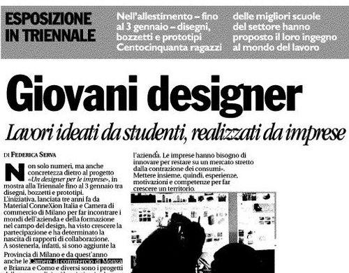 """""""Un designer per le imprese"""", Triennale di Milano, fino al 3 gennaio 2013"""