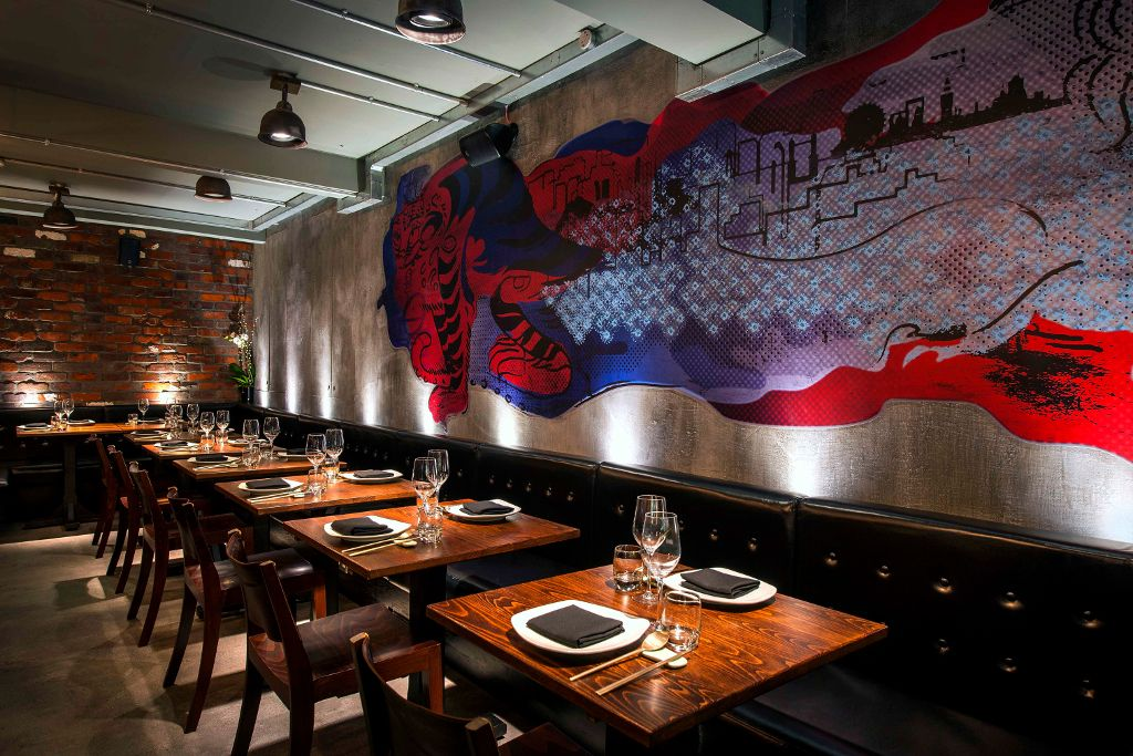 See The Winners Of 2015 Restaurant And Bar Design Awards Standalone Jinjuu London UK By Tibbatts Abel