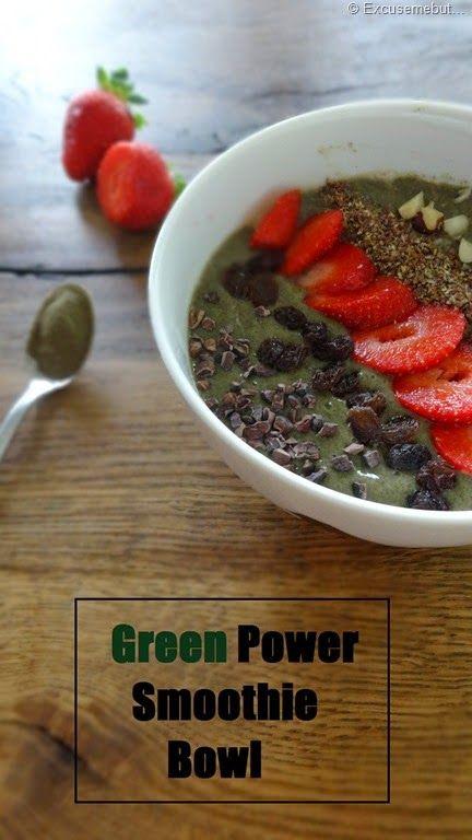 Green Power Smoothie Bowl