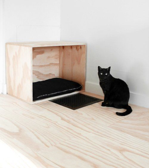 Minimalist DIY Pet Bed   Apartment Therapy