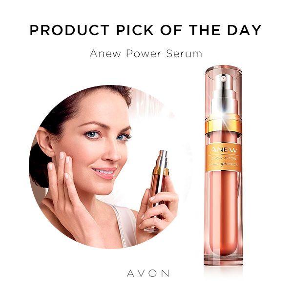 Avon Skin Care: Anew Power Serum Http://go.youravon.com/zkxqk