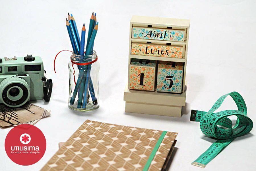Calendario perpetuo. Hecho en casa. http://www.utilisima.com/manualidades/9030-calendario-perpetuo.html