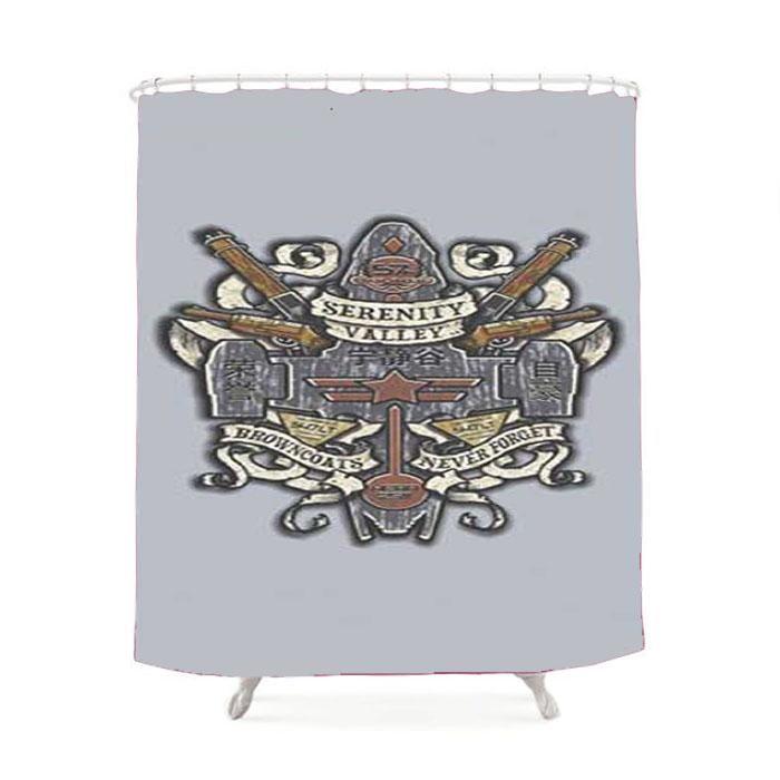 Firefly Serenity Valley Crest Shower Curtain