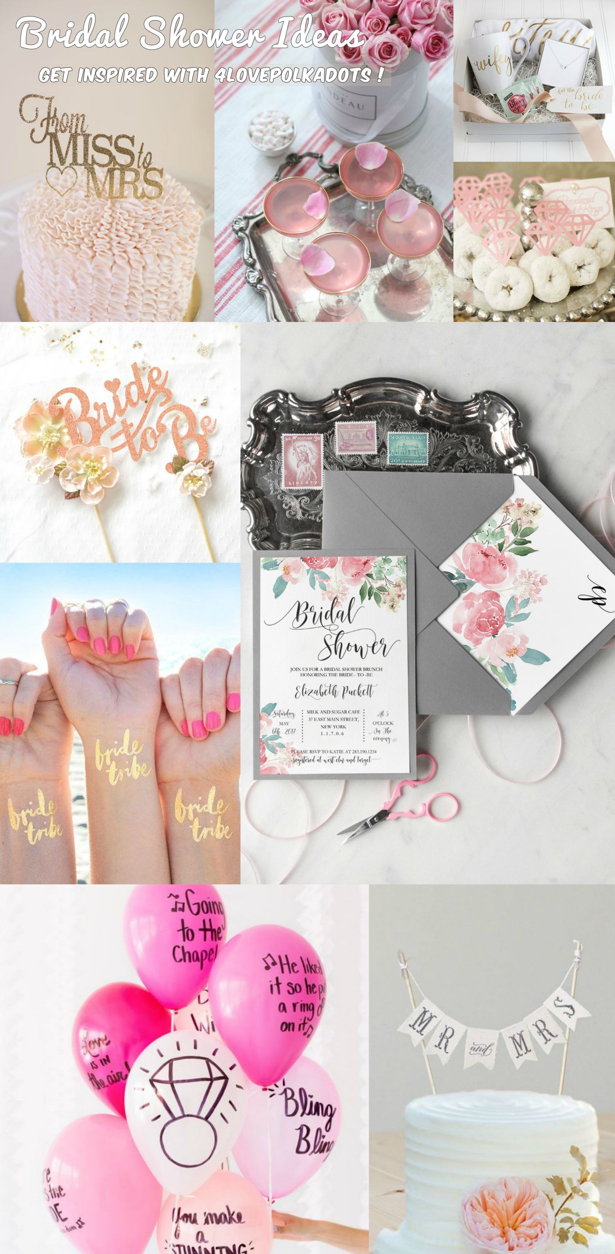 bridal shower invitation pictures%0A Invite your best friends for a bridal shower by giving them lovely invites