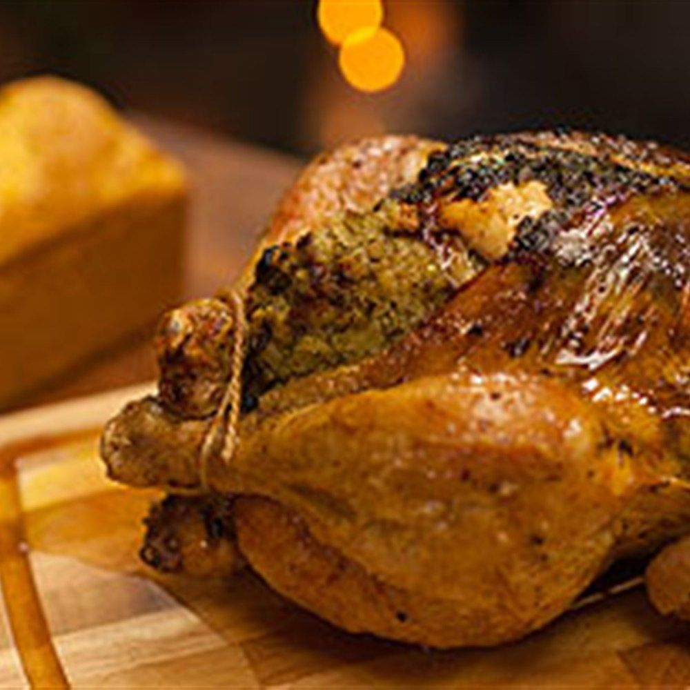 Mums roast chicken with cornbread recipe cornbread recipes mums roast chicken with cornbread forumfinder Images
