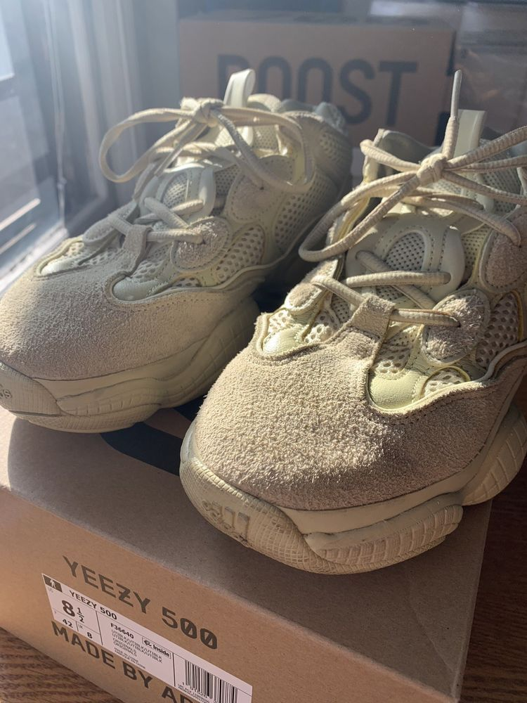 881874de1 Adidas Yeezy 500 Super Moon Yellow Size US 8.5 Authentic fashion clothing  shoes accessories mensshoes athleticshoes (ebay link) ...