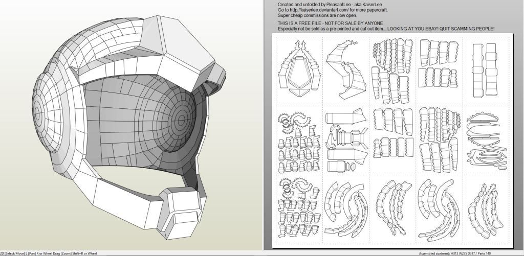 Papercraft pdo file template for gundam earth federation pilot papercraft pdo file template for gundam earth federation pilot helmet pronofoot35fo Image collections