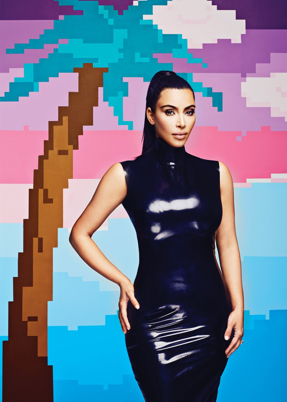 Kim makes kardashian the cover of adweek