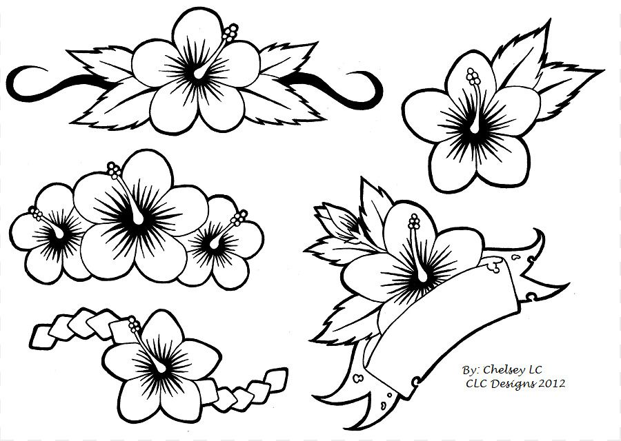Drawing Hibiscus 204 Drawing Group Fepaex Org Flower Tattoo Designs Hibiscus Tattoo Flower Tattoo Drawings