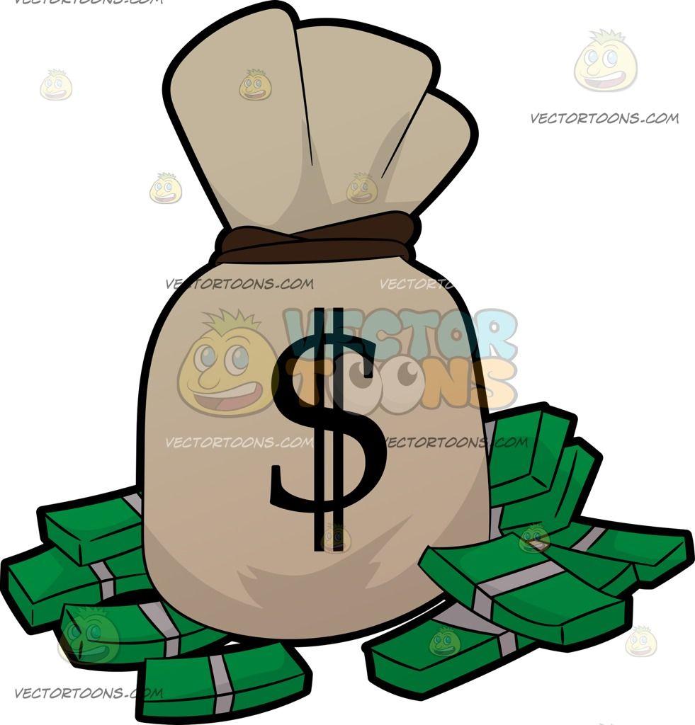 a bag of money and bundles of cash pinterest clip art and cartoon rh pinterest com bill of rights clipart bill of rights clipart